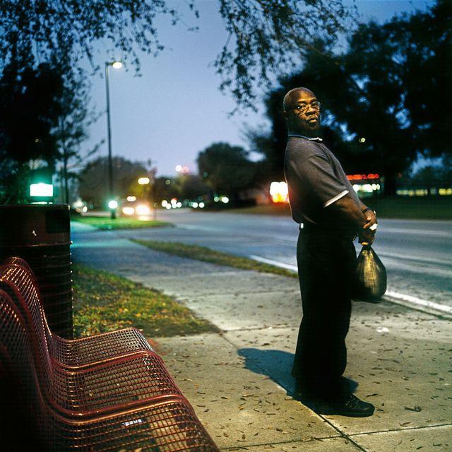 "Orlando, Floride, 6h du matin. Photo issue du livre ""American Puzzle"""
