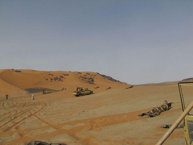 Dans les déserts du Sahel