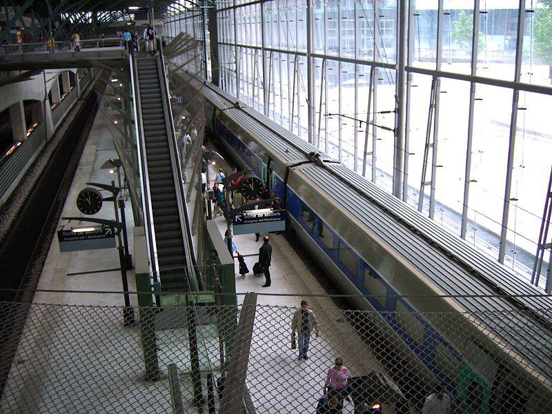 Les 20 ans du TGV Nord : la gare de Lille Europe