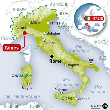 Gênes en Italie