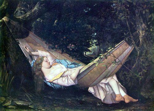 Gustave Courbet, le hamac
