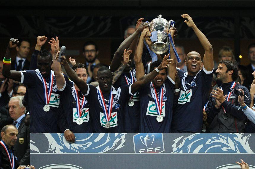 Les Girondins soulèvent la coupe de France 2013 !