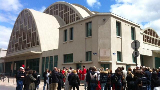 Les halles du Boulingrin à Reims