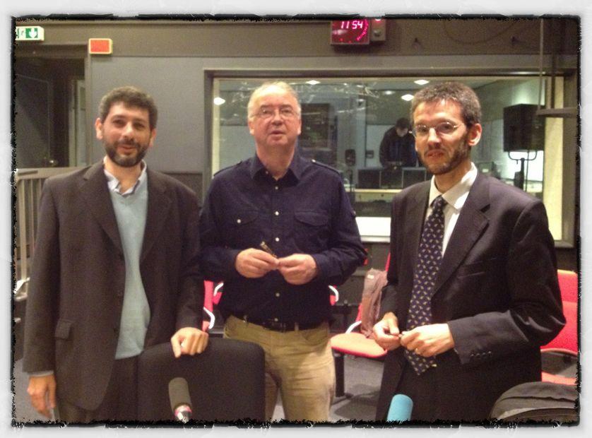 Ziad Majed, Jean-Pierre Perrin et Dominique Avon.