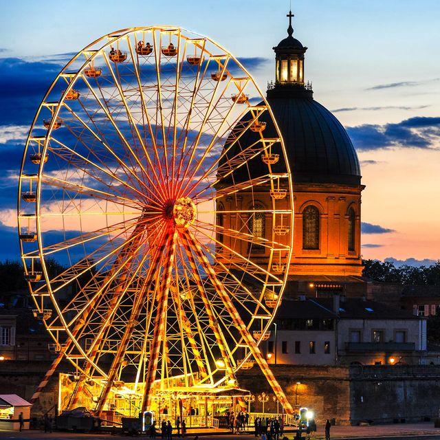 La Roue - Foire Internationale de Bordeaux (Gironde)