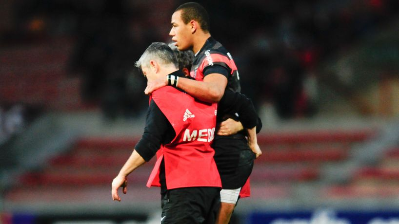toulouse fickou blessure