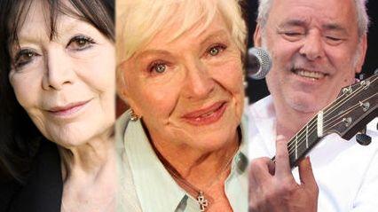 """Juliette Gréco, Line Renaud ou Maxime Le Forestier saluent """"un grand artiste"""""""