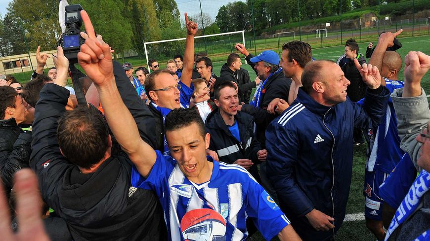 L'équipe de football de Dunkerque accède en National