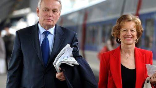 Jean-Marc Ayrault et son épouse Brigitte le 6 mai dernier.