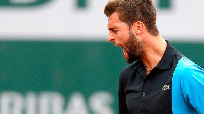 Benoît Paire victorieux face à Lukasz Kubot à Roland Garros