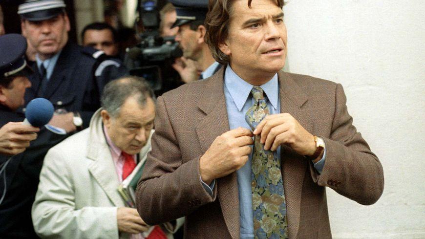 Bernard Tapie, président de l'OM, lors du procès