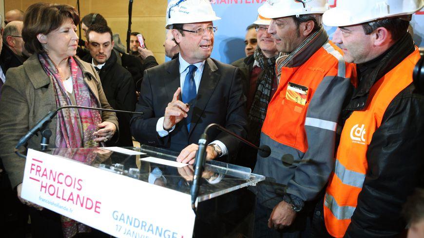 Hollande à Gandrange lorraine