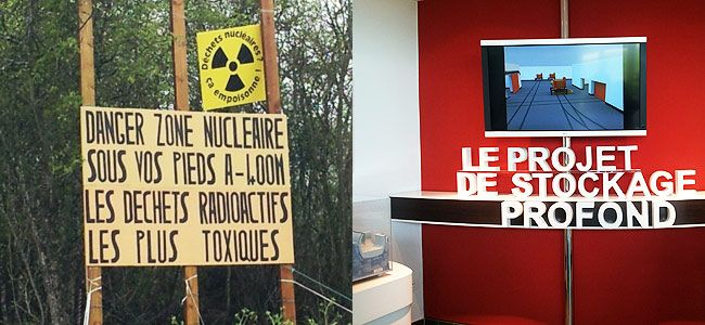 De l'enfouissement des déchets nucléaires à Bure