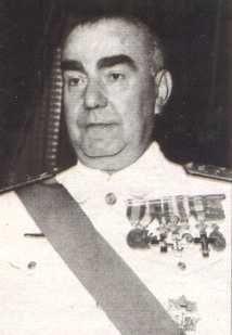 Luis Carrero Blanco, en 1939. L'éminence grise de Franco, assassiné par l'ETA en 1973