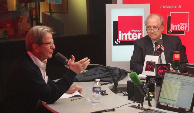 Bernard Kouchner et Hubert Védrine