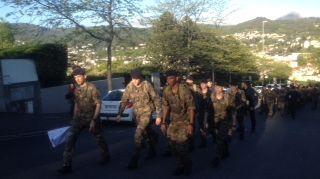 Les militaires du 92e RI de Clermont sont venus prêter main forte pour retrouver la fillette disparue dans le parc Montjuzet.