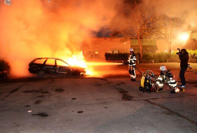 Quatre nuits de caillassages, d'incendies et de dégradations à Stockholm et dans sa banlieue