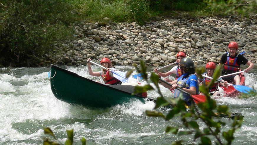 Canoë sur la rivière Ardèche