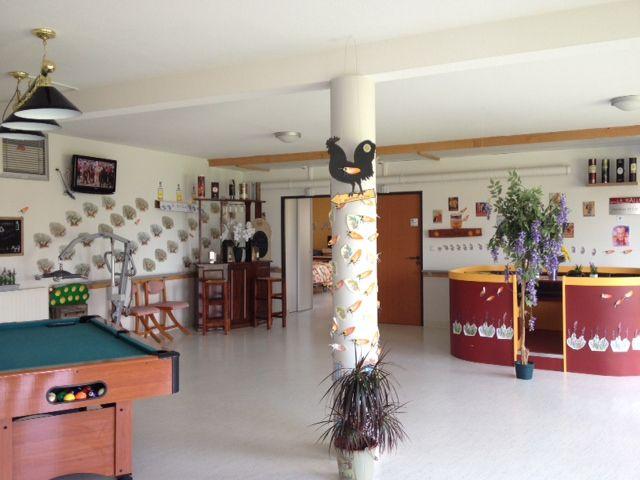 Chaque salle et couloir est décoré en fonction d'un thème