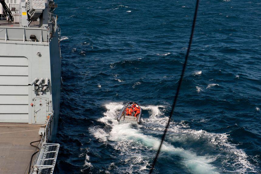 Un homme sauvé en mer au large de l'île de Ouessant