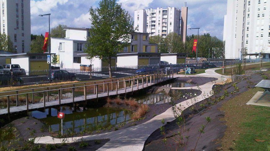 Le nouveau square du Val Saint Jean