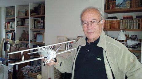 Bernard Decré explorateur oiseau blanc