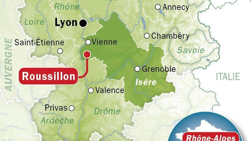 Roussillon, en Isère