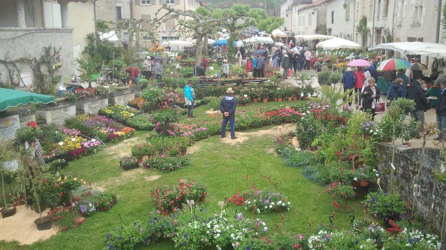 Les 32ème Floralies de Saint-Jean-de-Côle