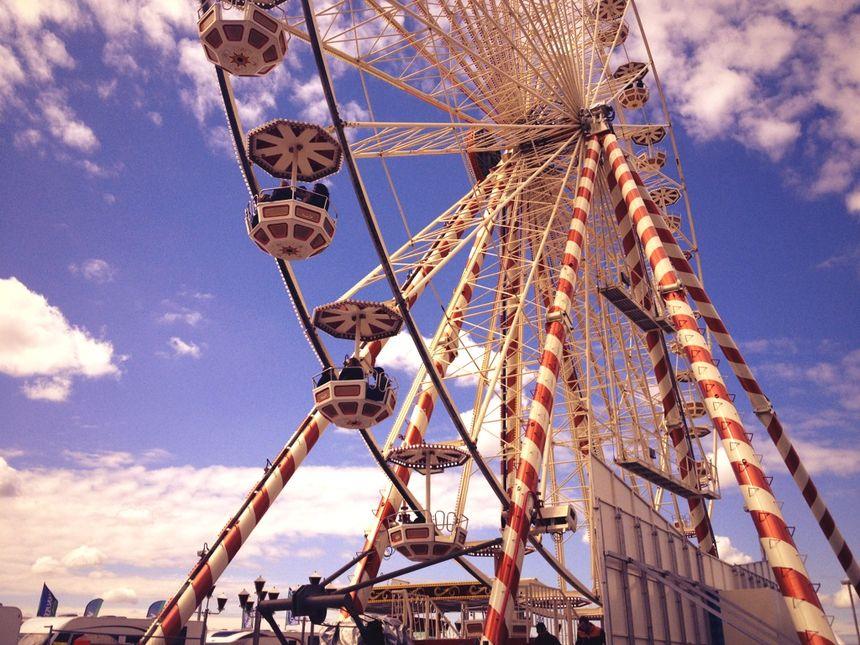 La Foire de Bordeaux  fête vos jeux! la grande roue*