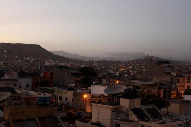 La ville de Praia, capitale de l'archipel du Cap-vert
