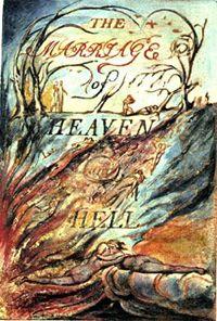 Le Mariage du Ciel et de l'Enfer de Wiliam  Blake 1790-1793