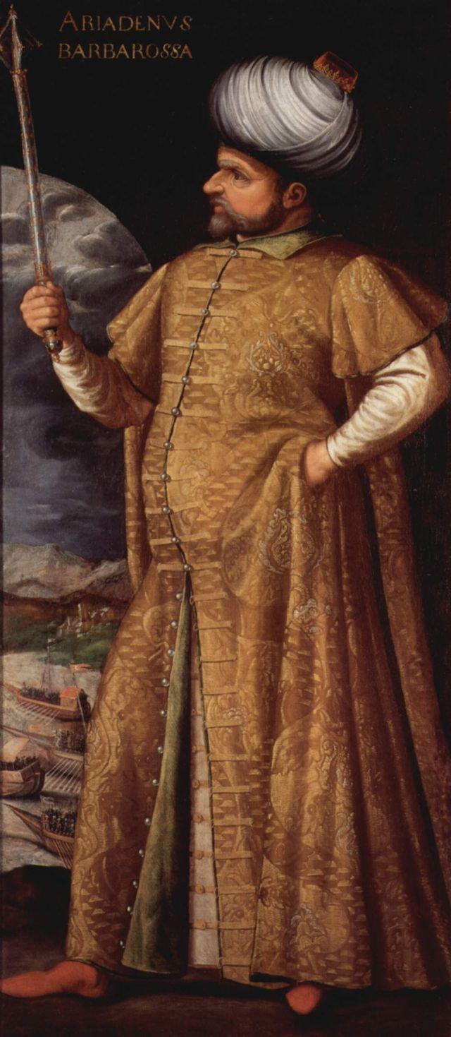 Portrait de Khayr ad-Din Barberousse - vers 1580