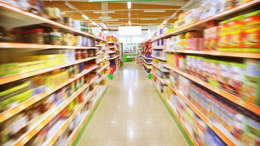 consommation, supermarché, hypermarché, magasins, rayons, alimentation, pouvoir d'achat,