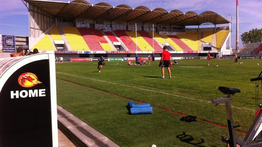 Stade Gilbert Brutus des Dragons Catalans
