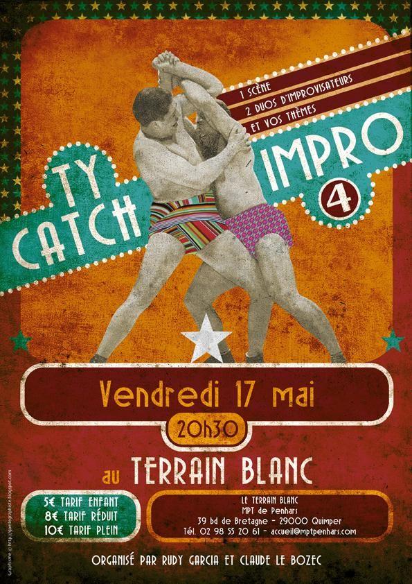 Ty catch Impro le 17 mai à Quimper