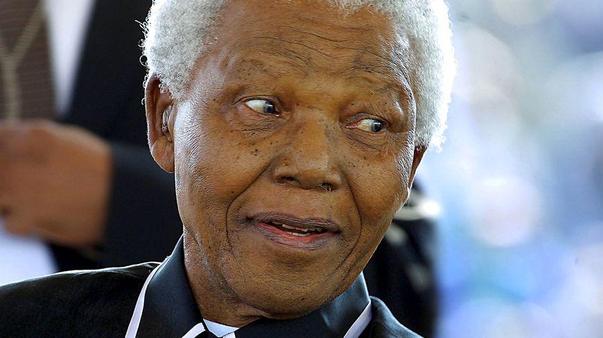 Nelson Mandela, en 2003