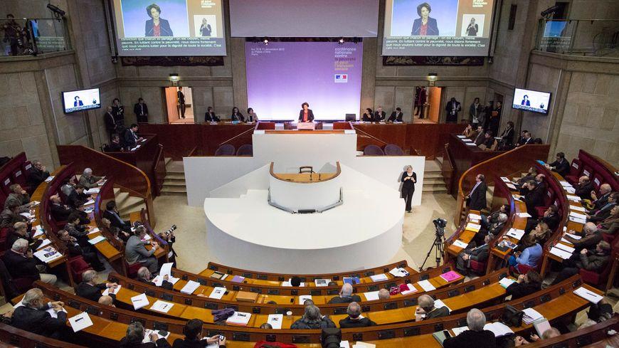La Conférence se déroule dans l'enceinte du Conseil économique, social et environnemental à Paris
