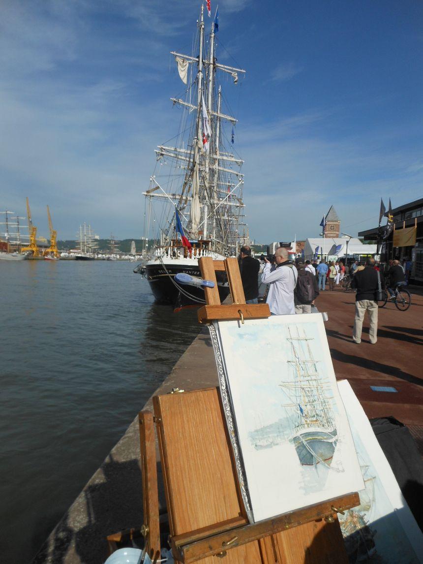 Les peintres de l'Armada