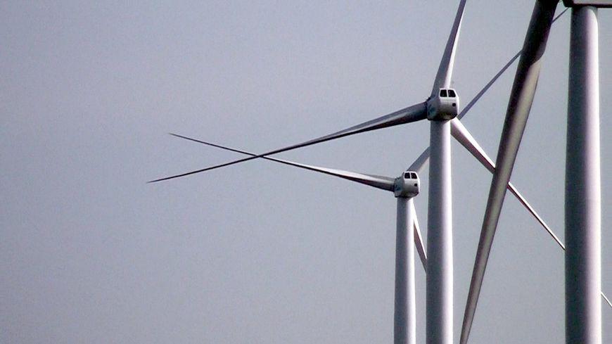 Pales d'éoliennes (Alsace Bossue)
