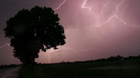 Les orages pourront être violents (photo d'illustration)