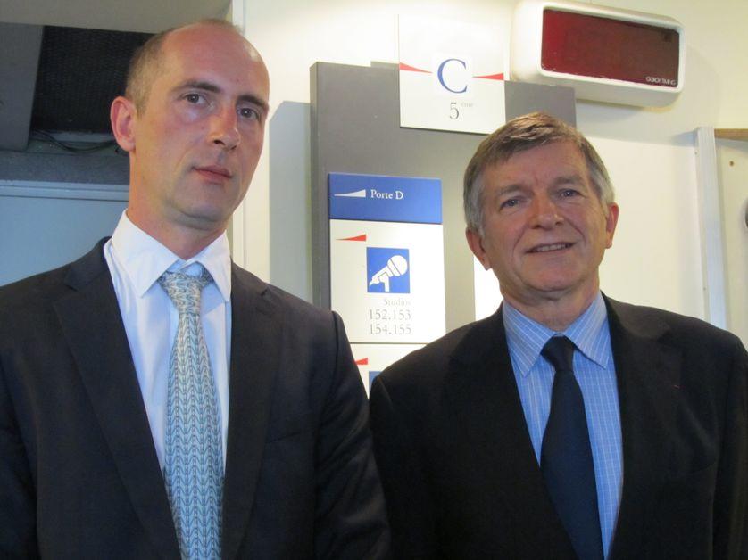 Gilles Langlois et Jean-Paul Delahaye