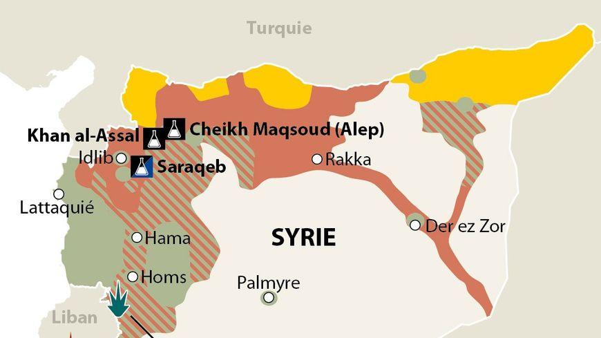 Armes chimiques en Syrie : la situation