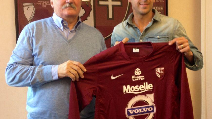 Retour de Romain Rocchi au FC Metz