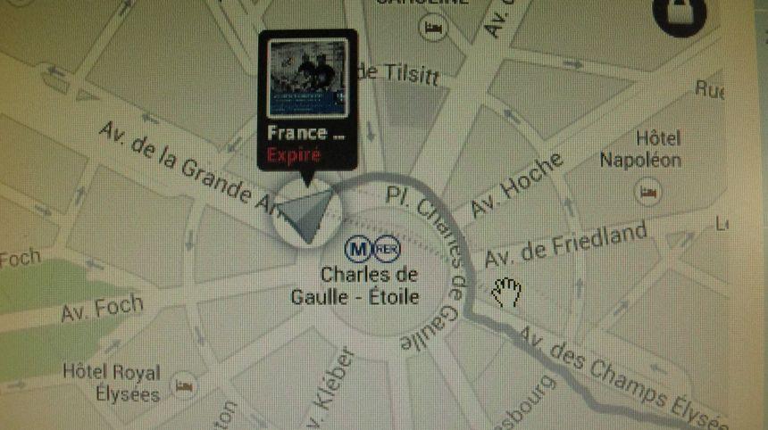 GPS TDF vélib