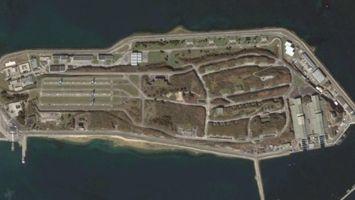 Le site de l'ïle-Longue dans la rade de Brest