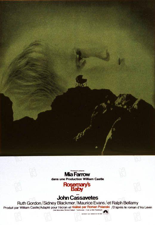 Affiche de Rosemary's Baby, Roman Polanski, 1968