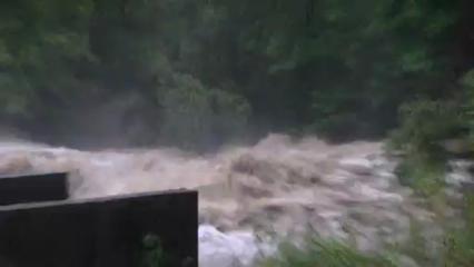 VIDEOS - Les images des inondations dans les Pyrénées Atlantiques