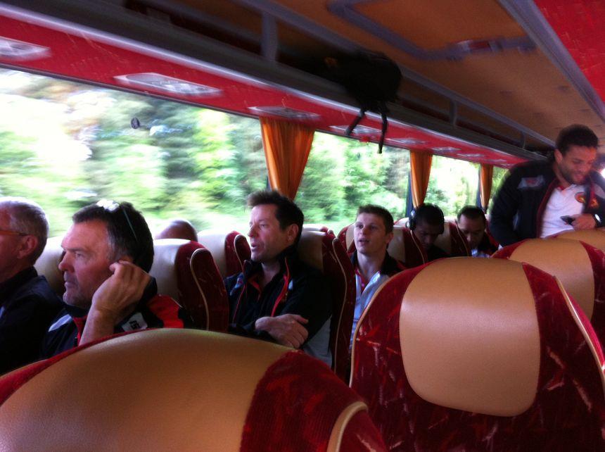 Le bus des Dragons Catalans