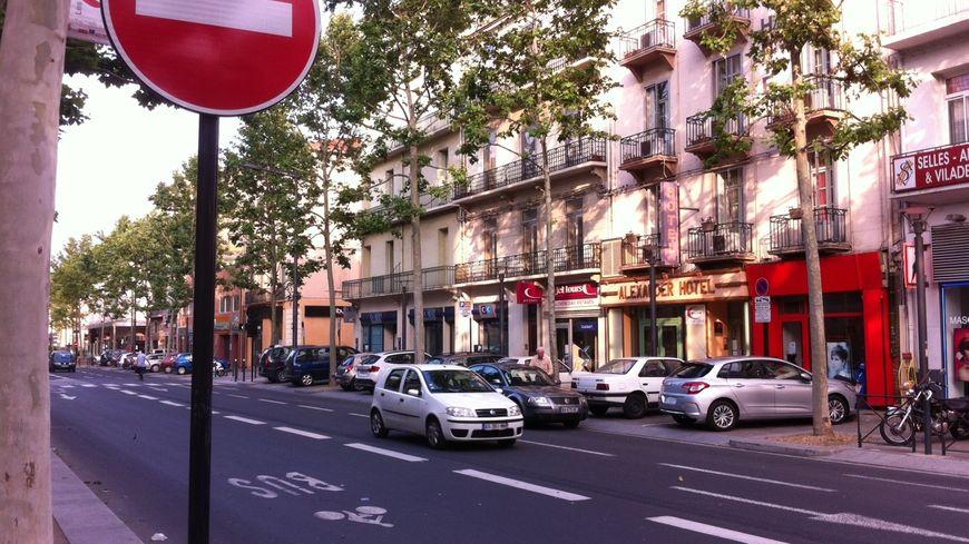 Le boulevard Clémenceau est à sens unique depuis 2010