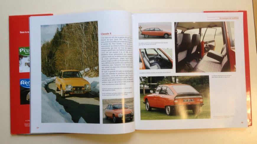 Contenu du livre « Citroën Sportives de série » paru aux éditions ETAI